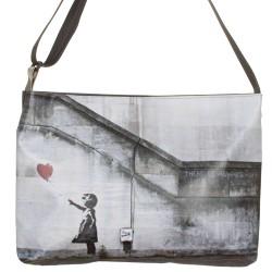 Borsa a tracolla orizzontale Banksy