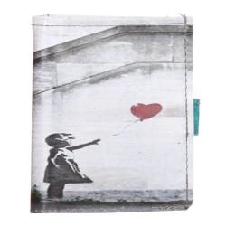Portafoglio lace up Banksy
