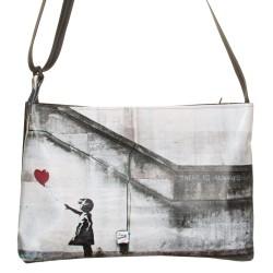 Borsa a tracolla mini Banksy