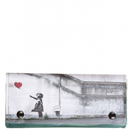Portafoglio patell. big Banksy