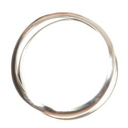 Set 2 braccialetti alluminio