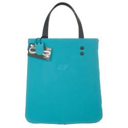 Shopping verticale azzurro e blu
