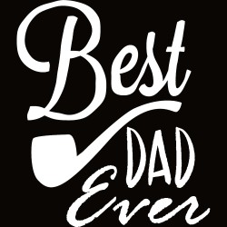T-Shirt Uomo Best Dad Pipa
