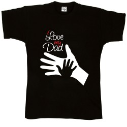 T-Shirt Uomo i love dad