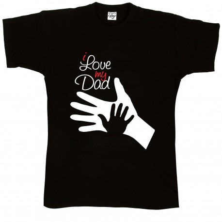 T-Shirt Uomo i love dad