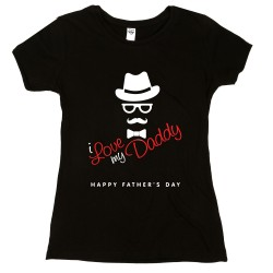 T-Shirt Donna happy father