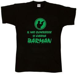 T-Shirt Uomo Il mio super...