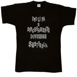 T-Shirt Uomo Dio li fa...