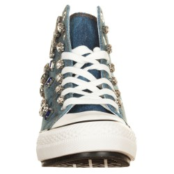 Sneakers con zeppa interna