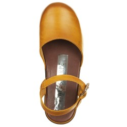 Sandali clogs giallo
