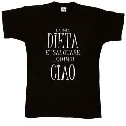 T-Shirt Uomo La mia dieta...