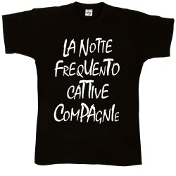 T-Shirt Uomo La notte ....