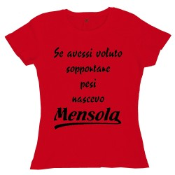 T-Shirt Donna Se avessi...drone