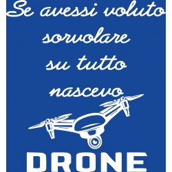 T-Shirt Donna Drone