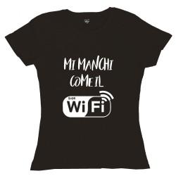 T-Shirt Donna Mi manchi...