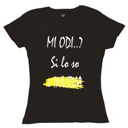 T-Shirt Donna Mi odi?...