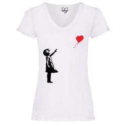 T-Shirt Donna V Bansky