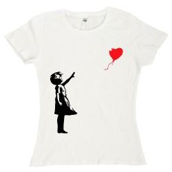 T-Shirt Donna Banksy