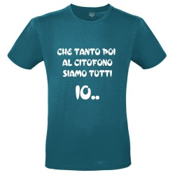 T-Shirt Uomo Che tanto poi...