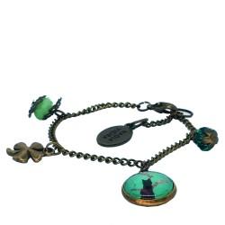 Braccialetto catena Gatto Tiffany