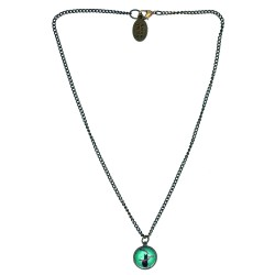 Collana 14mm Gatto Tiffany