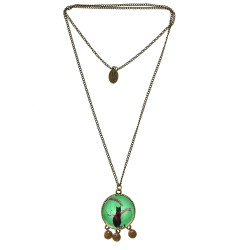 Collana 30mm Gatto Tiffany