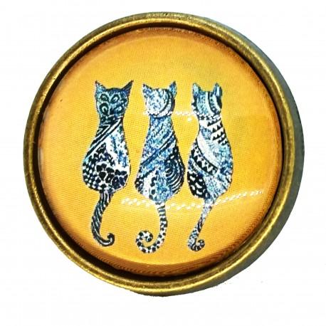 Anello 25mm Gatto Tris