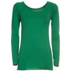 Maglietta basica verde