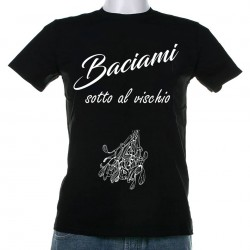 T-Shirt uomo Baciami ... vischio