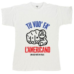T-Shirt Uomo Tu vuoi far...