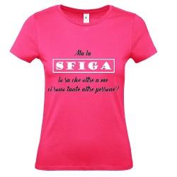 T-Shirt Donna ma la sfiga..