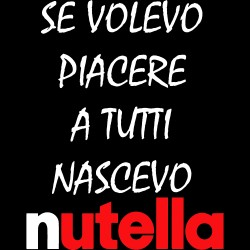 T-Shirt Donna Nutella