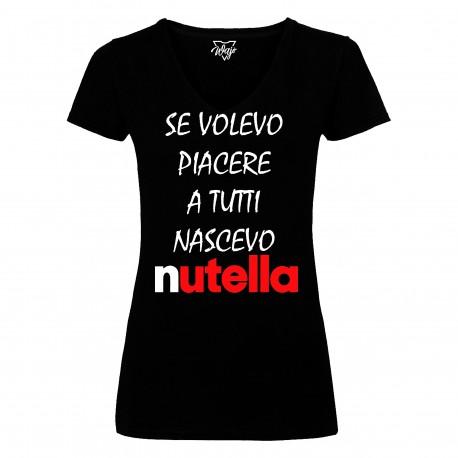 T-Shirt Donna Nutella