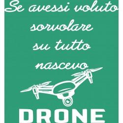 T-Shirt Donna Se ...drone