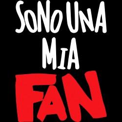 T-Shirt Donna Sono ...fan