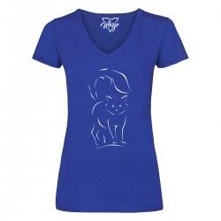 T-Shirt Donna Gatto Luigi