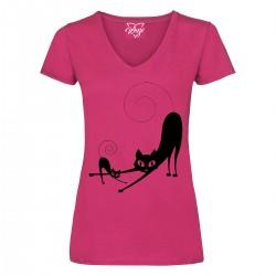 T-Shirt Donna Kat kitten