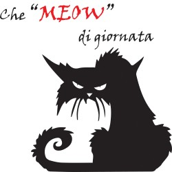T-Shirt Donna Gatto Meow
