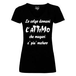 T-Shirt Donna Lo colgo...