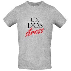T-Shirt Uomo Un Dos Stress