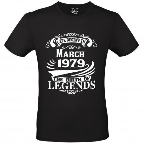 T-Shirt Uomo Life begins...