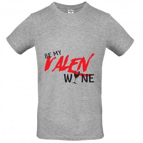 T-Shirt Uomo Be my valen...wine