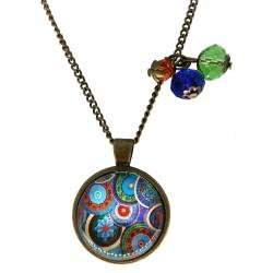 Collana 25mm Mandala