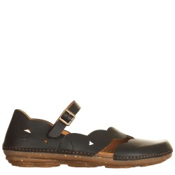 Ballerina Torcal Soft Grain Black