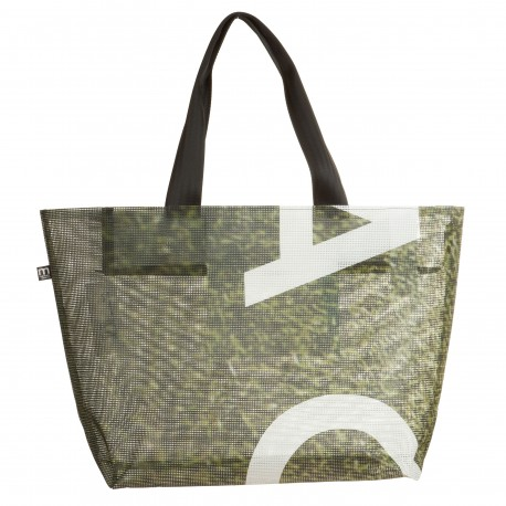 Borsa season BIG bianca e salvia