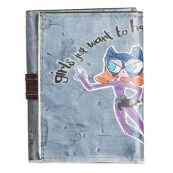 Portafoglio lace up Super Girl