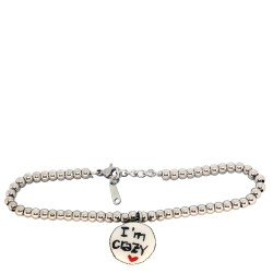 Bracciale charms Im crazy