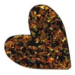 Anello cuore maxi oro