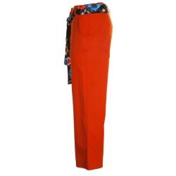 Pantaloni capri con fusciacca