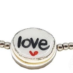 Bracciale palline Love